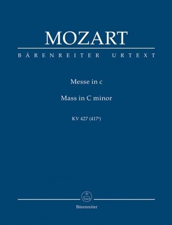 Mass in C minor (K.427) (K.417a) (Urtext) (Credo & Sanctus reconstructed & completed by Helmut Eder)