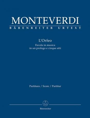 L'Orfeo (It) (Urtext). : Large Score: (Barenreiter)