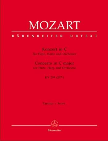Concerto for Flute and Harp in C (K.299) (K.297c) (Urtext). : Large Score Paperback: (Barenreiter)