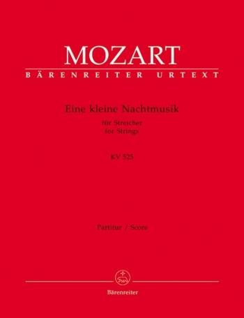 Eine kleine Nachtmusik (K.525) (Urtext). : Large Score Paperback: (Barenreiter)