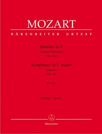 Symphony No.41 in C (K.551) (Jupiter) (Urtext). : Large Score Paperback: (Barenreiter)