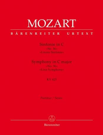 Symphony No.36 in C (K.425)  (Linz) (Urtext). : Large Score Paperback: (Barenreiter)
