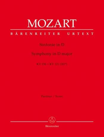Symphony in D (K.196/121) (Urtext). Overture from 'La finta giardiniera'.: Large Score Paperback: (B