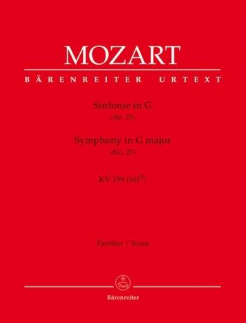 Symphony No.27 in G (K.199) (K.161b) (Urtext). : Large Score Paperback: (Barenreiter)