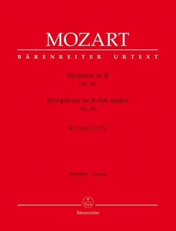 Symphony No.24 in B-flat (K.182) (Urtext). : Large Score Paperback: (Barenreiter)