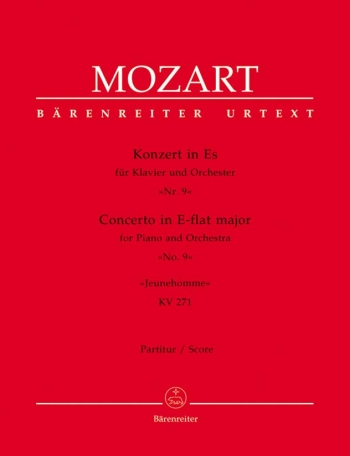 Concerto for Piano No. 9 in E-flat (K.271) (Urtext). : Large Score Paperback: (Barenreiter)