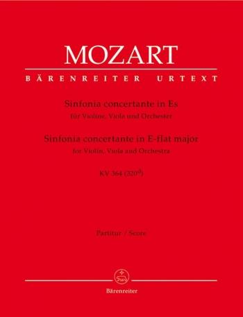 Sinfonia concertante in E-flat (K.364) (K.320d) for Violin, Viola & Orchestra (Urtext).: Large Score