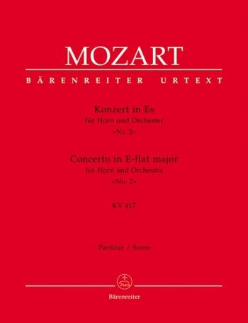 Concerto for Horn No.2 in E-flat (K.417) (Urtext). : Large Score Paperback: (Barenreiter)