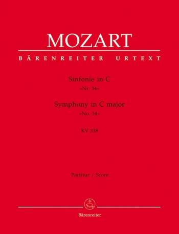 Symphony No.34 in C (K.338) (Urtext). : Large Score Paperback: (Barenreiter)