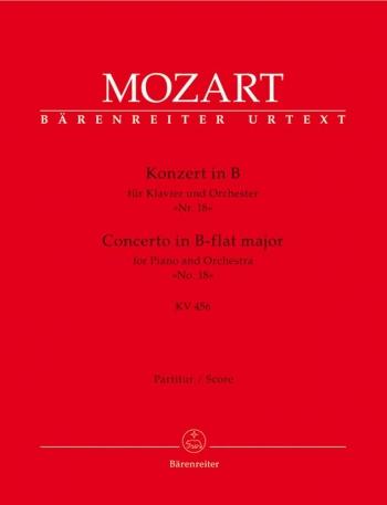 Concerto for Piano No.18 in B-flat (K.456) (Urtext). : Large Score Paperback: (Barenreiter)