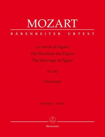 Marriage of Figaro (Overture) (K.492) (Urtext). : Large Score Paperback: (Barenreiter)