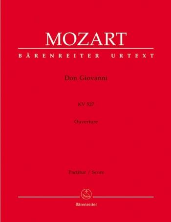 Don Giovanni (Overture) (K.527) (Urtext). : Large Score Paperback: (Barenreiter)