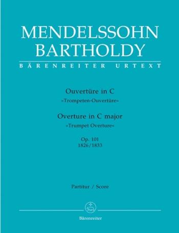 Trumpet Overture in C Op.101 (Urtext). : Large Score Paperback: (Barenreiter)