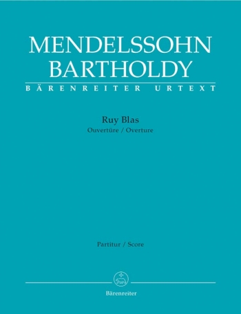 Ruy Blas. Overture Op.95 (Urtext). : Large Score Paperback: (Barenreiter)