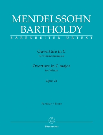 Overture in C for Winds Op.24 (Urtext). : Large Score Paperback: (Barenreiter)