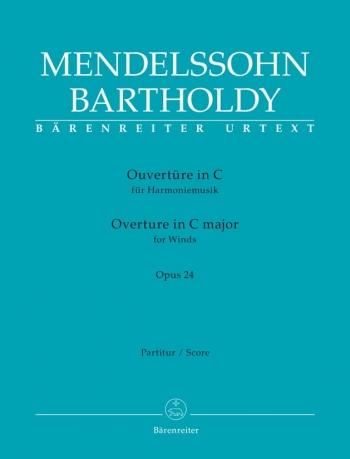 Overture in C for Winds Op.24 (Urtext). : Large Score Paperback: (Barenreiter)