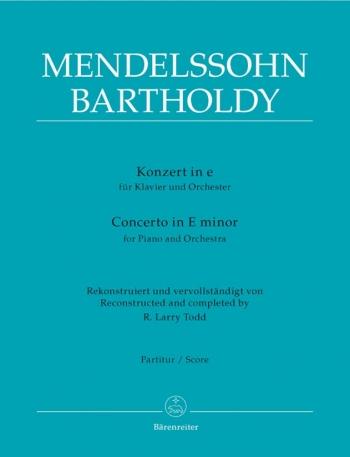 Concerto for Piano No.3 in E minor. : Large Score Paperback: (Barenreiter)