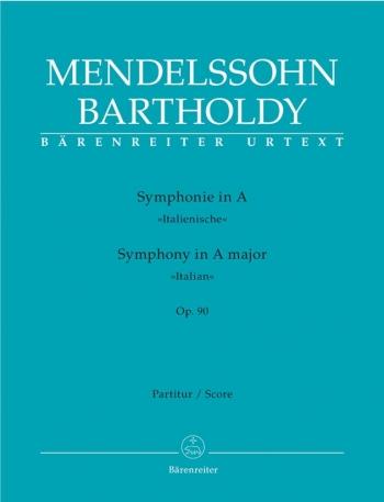 Symphony No.4 in A, Op.90 (Italian) (Urtext). : Large Score Paperback: (Barenreiter)