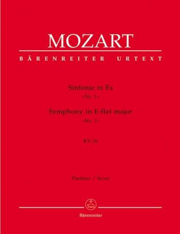 Symphony No. 1 in E-flat (K.16) (Urtext). : Large Score Paperback: (Barenreiter)