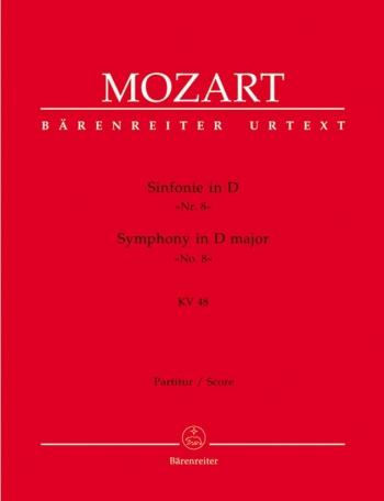 Symphony No. 8 in D (K.48) (Urtext). : Large Score Paperback: (Barenreiter)