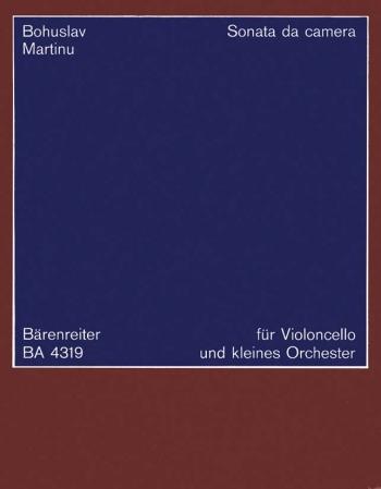 Sonata da camera (1940). : Study score: (Barenreiter)