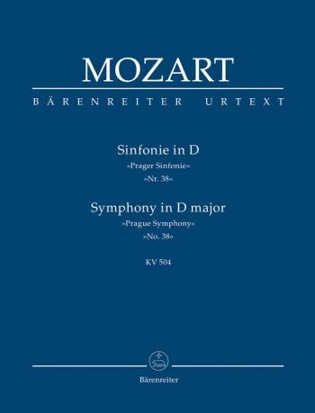 Symphony No.38 in D (K.504) (Prague) (Urtext). : Study score: (Barenreiter)