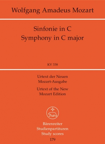 Symphony No.34 in C (K.338) (Urtext). : Study score: (Barenreiter)