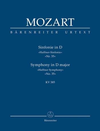 Symphony No.35 in D (K.385)  (Haffner) (Urtext). : Study score: (Barenreiter)