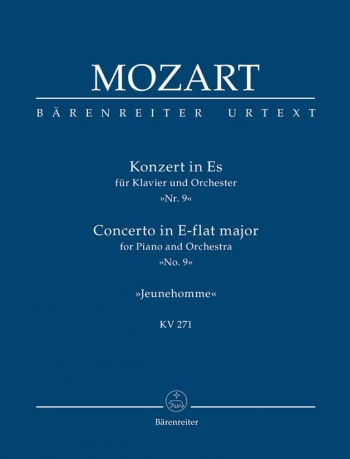 Concerto for Piano No. 9 in E-flat (K.271) (Urtext) Study score (Barenreiter)