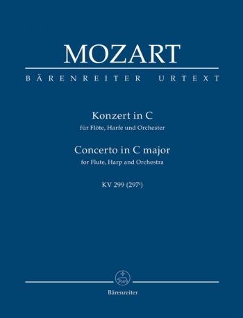 Concerto for Flute and Harp in C (K.299) (K.297c) (Urtext) Study score (Barenreiter)