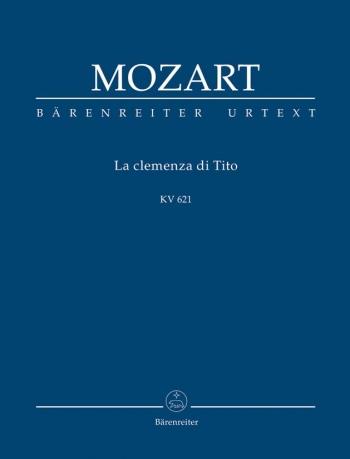 La clemenza di Tito (K.621) (It-G) (Urtext) Study score (Barenreiter)