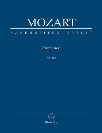 Idomeneo (complete opera) (It-G) (K.366) (Urtext) Study score (Barenreiter)