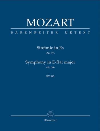 Symphony No.39 in E-flat  (K.543) (Urtext) Study score (Barenreiter)