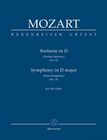 Symphony No.31 in D (K.297) (K.300a) (Paris) (Urtext) Study score (Barenreiter)