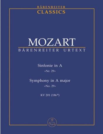 Symphony No.29 in A (K.201) (K.186a) (Urtext  Study Score (Barenreiter)