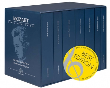 Operas, The Seven Great.  7 Volume Study Score Edition (Urtext) Study Score (Barenreiter)