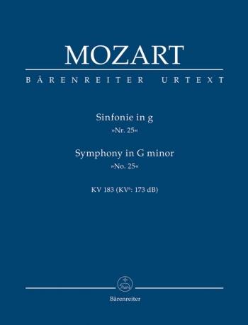 Symphony No.25 in G minor (K.183) (K.173dB) (Urtext) Study score (Barenreiter)