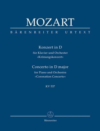 Concerto for Piano No.26 in D (K.537) (Urtext) Study score (Barenreiter)