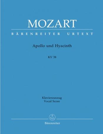 Apollo und Hyacinth. A Latin intermedium (K.38) (L) (Urtext). : Vocal Score: (Barenreiter)