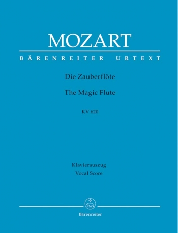 Magic Flute (complete opera) (G) (K.620) (Urtext). : Vocal Score: (Barenreiter)