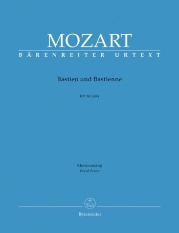 Bastien und Bastienne (complete opera) (G) (K.50) (K.46b) (Urtext). : Vocal Score: (Barenreiter)