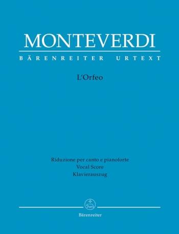 L'Orfeo (It) (Urtext). : Vocal Score: (Barenreiter)