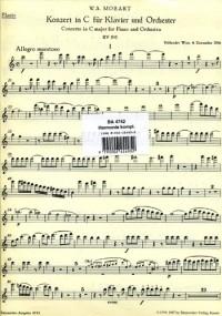 Concerto for Piano No.25 in C (K.503) (Urtext). : Wind set: (Barenreiter)