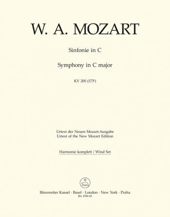 Symphony No.28 in C (K.200) (K.189k) (Urtext). : Wind set: (Barenreiter)