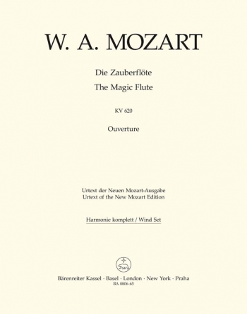 Magic Flute (Overture) (K.620) (Urtext). : Wind set: (Barenreiter)