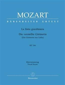 La finta giardiniera (Overture) (K.196) (Urtext).  : : (Barenreiter)