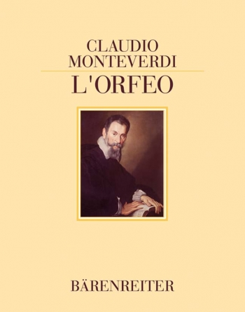 L'Orfeo.  Reprint of the first print of the score, Venedig 1609, and of Act V of the Mantuaner Libre