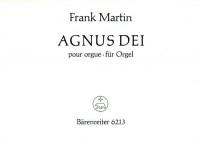 Agnus Dei (1926/1966) from Mass for Double Choir. : Organ: (Barenreiter)