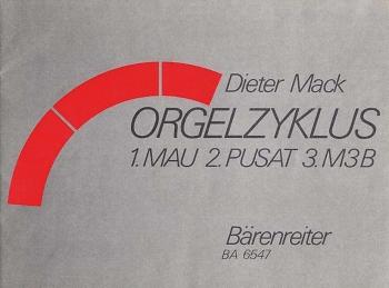 Orgelzyklus. : Organ: (Barenreiter)