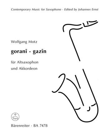 gorani - gazin : Saxophone: (Barenreiter)